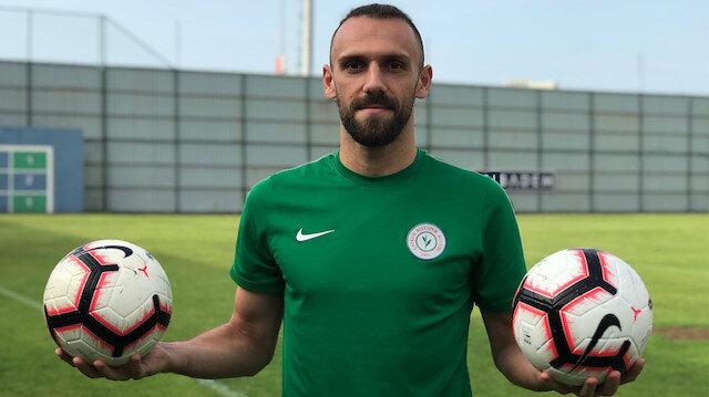 Çaykur Rizespor'dan ayrılan Vedat Muriç, Fenerbahçe ile 4 yıllık sözleşme imzalayacak.