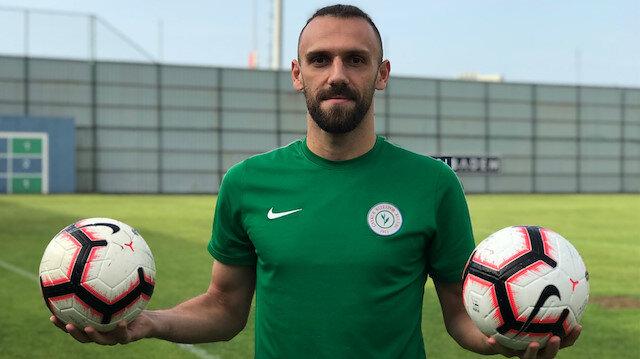 Galatasaray Kulübü de Vedat Muriqi için teklifte bulunmuştu.
