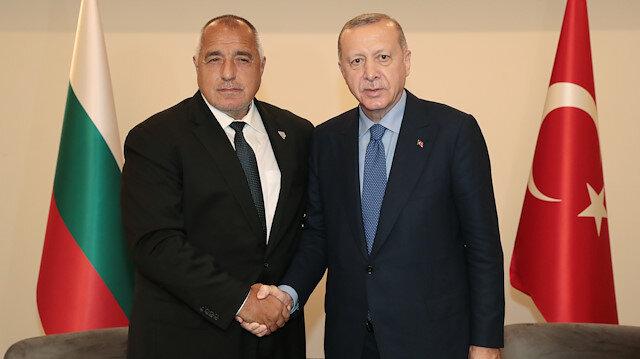 Cumhurbaşkanı Erdoğan, Bulgaristan Başbakanı Boyko Borisov'u kabul etti.
