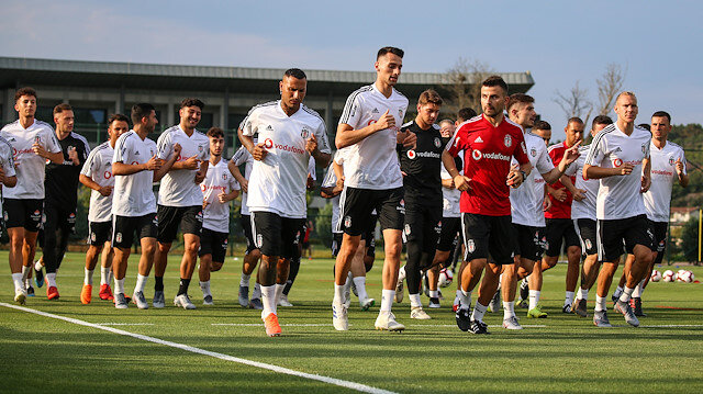 Beşiktaş yeni sezon hazırlıklarına dün başladı.