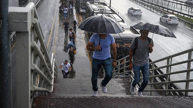 Meteoroloji açıkladı: Serin ve yağışlı hava geliyor