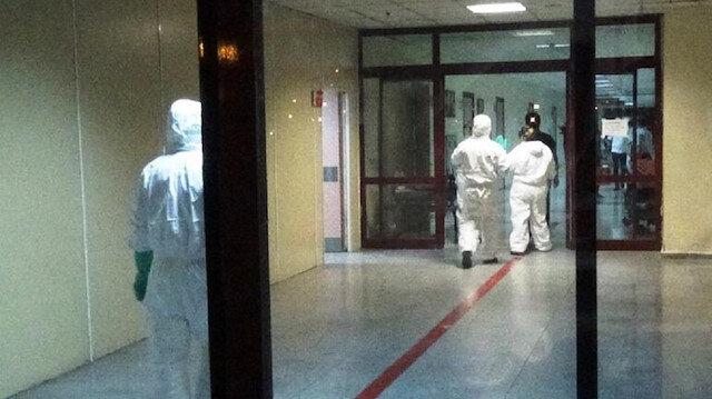 Diyarbakır'da hastanede kimyasal madde alarmı