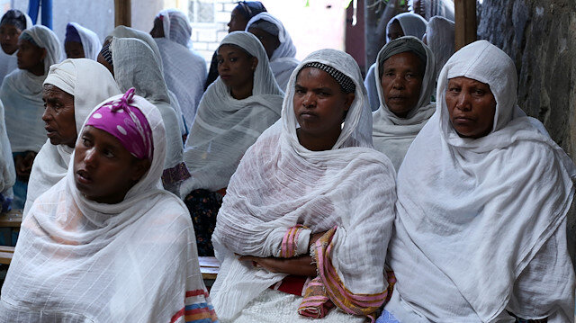 File photo: Ethiopian Jews in Israel