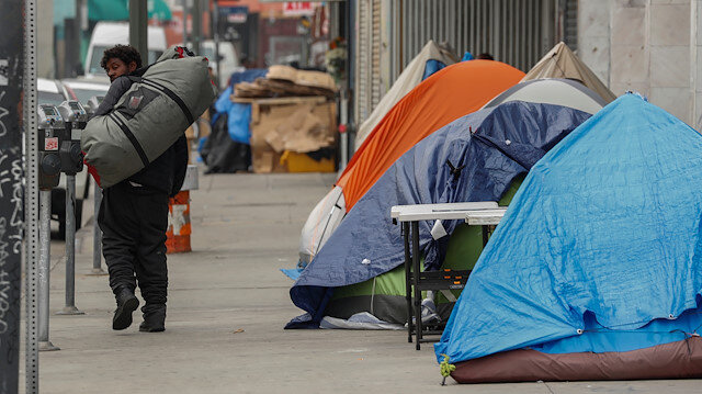 ABD'de 86 bin evsizin büyük çoğunluğu üniversite mezunu