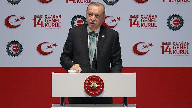 Cumhurbaşkanı Erdoğan: Faizi tek haneli rakamlara indireceğiz