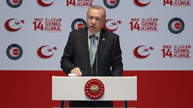 Cumhurbaşkanı Erdoğandan Merkez Bankası açıklaması