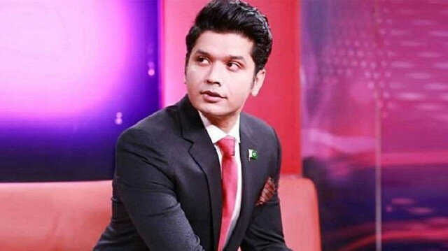 Pakistani TV host Mureed Abbas