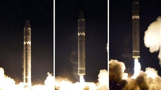 """صاروخ """"هواسونغ-15"""" الكوري الشمالي قادر على ضرب أي نقطة بالولايات المتحدة"""