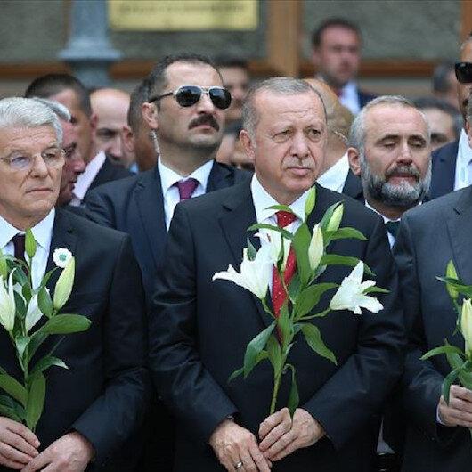 الرئاسة التركية: لم ولن ننسى الإبادة الجماعية في سربرنيتسا