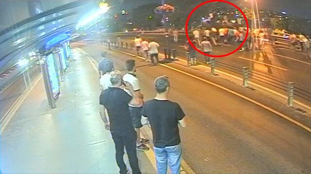 15 Temmuz gecesine ait ilk kez ortaya çıkan Haliç Köprüsü ve Sefaköy görüntüleri
