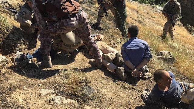 4 teröristin yakalanma anına ait yeni fotoğraflar ortaya çıktı