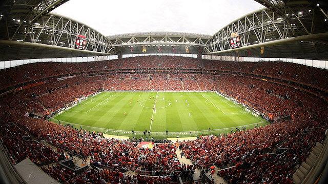Galatasaray'ın iç saha maçlarını oynadığı Türk Telekom Stadyumu