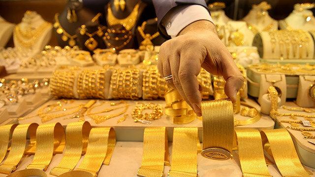 Gram altın günü 257,70 liradan tamamladı