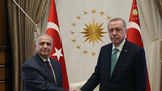 أردوغان يستقبل وفدًا عراقيًّا رفيع المستوى في أنقرة