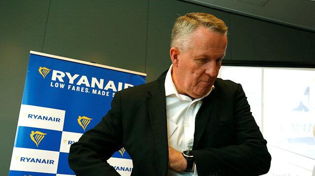 Chief Operating Officer Peter Bellew of Ryanair