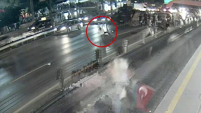 15 Temmuz gecesinin yeni görüntüleri: Sefaköyde vatandaş tankın önüne yatıyor
