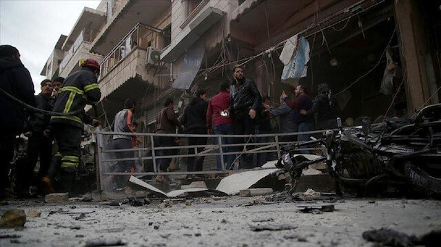 8 قتلى في تفجير إرهابي يستهدف عفرين شمالي سوريا
