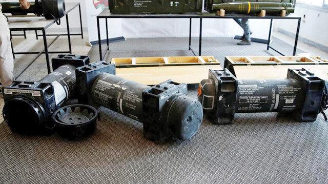 ABD yapımı Javelin anti-tank füze sistemi