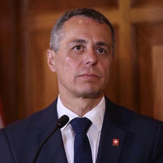 وزير الخارجية السويسري يشيد بايواء تركيا مهاجرين في أراضيها