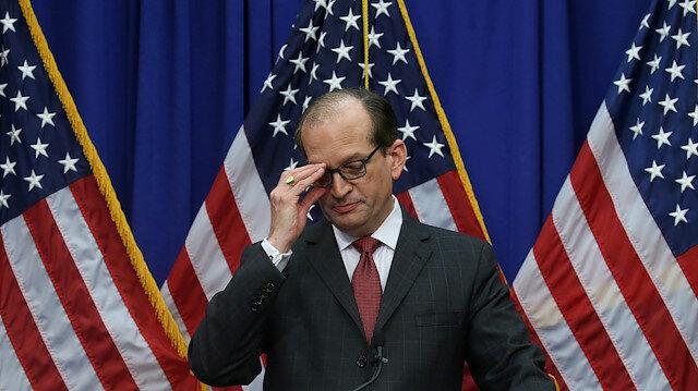 ABD'de Çalışma Bakanı Acosta istifa etti