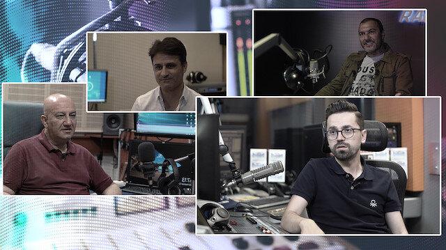 Erhan Konuk, Bay J, Hop Dedik Ayhan ve Adem Metan ile radyo stüdyosunda röportaj yaptık.