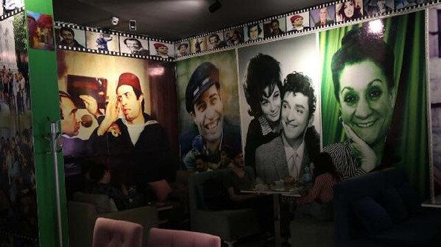 Yeşilçam sanatçıları Bitlis'teki kafede yaşatılıyor