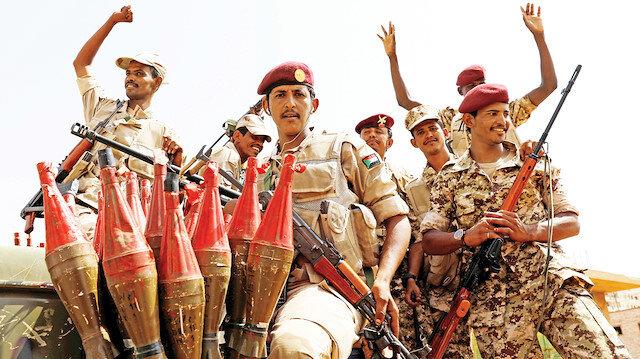 Katliamdan sorumlu tutulan Acil Destek Güçlerine bağlı askerler