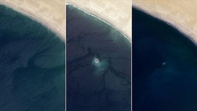 1999-2013 yılları arasında benzer 3 ada daha oluşmuştu.