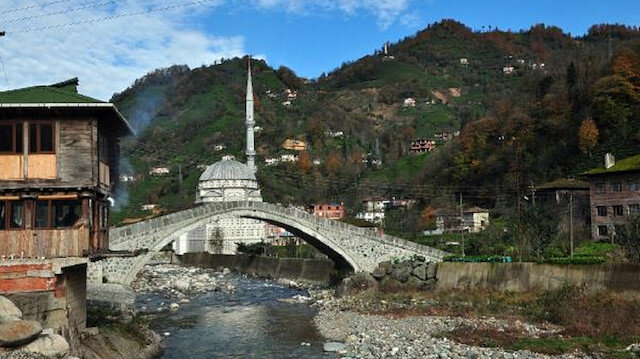 300 yıllık kemer köprü