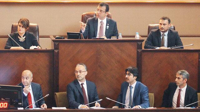 İBB Meclisi, Başkan Ekrem İmamoğlu yönetiminde önceki gün toplanmıştı.