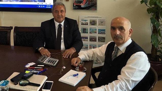 Emekli İBB Genel Sekreter Yardımcısı Muzaffer Hacımustafaoğlu (Sağda)