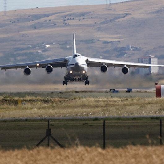 هبوط رابع طائرة عسكرية بمطار عسكري في أنقرة لتسليم إس-400