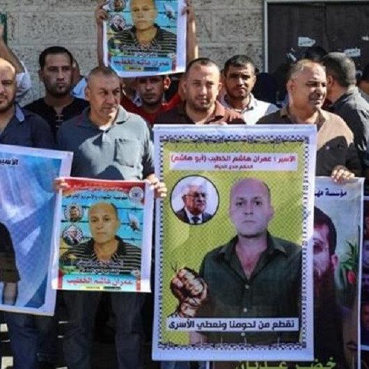 وقفة بغزة دعما للمعتقلين داخل السجون الإسرائيلية