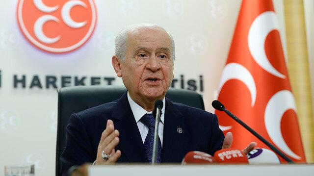 MHP Lideri Bahçeli.