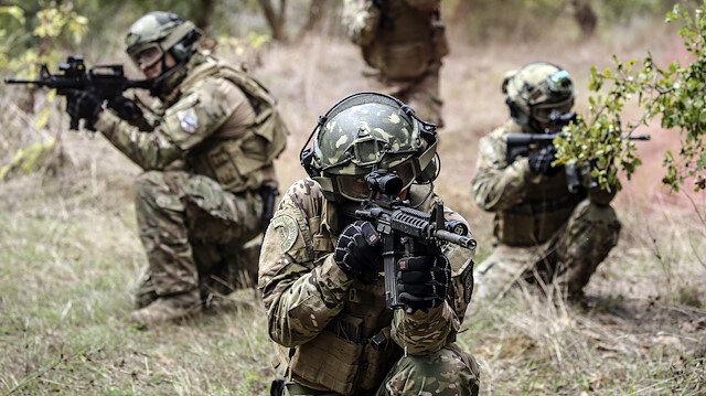 Terör harekatına katılan askerler. Fotoğraf: Arşiv.