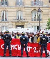 Fransa'da yelek akımı
