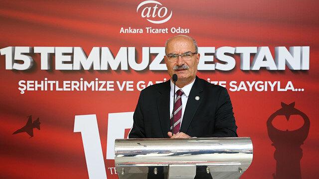 ATO Başkanı Baran: 15 Temmuz Türk milleti için bir milattır