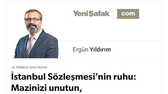 İstanbul Sözleşmesi'nin ruhu: Mazinizi unutun, feminizmle felaha erin!
