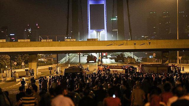 15 Temmuz hain darbe girişiminin en önemli noktalarından biri de o dönemki adıyla Boğaziçi içi köprüsü olmuştu.