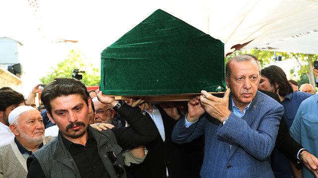 Cumhurbaşkanı Erdoğan, gazeteci yazar Mehmet Şevket Eygi'nin cenaze törenine katıldı
