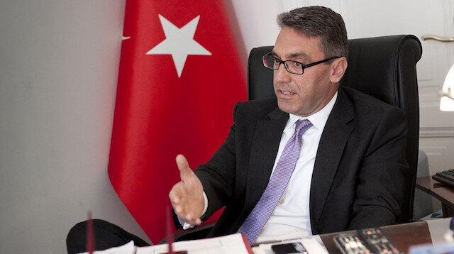 Türkiye'nin Atina Büyükelçisi Burak Özügergin.