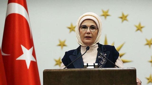 أمينة أردوغان: أشعر بفخر الانتماء للشعب التركي