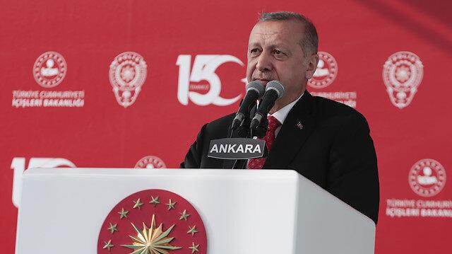 Cumhurbaşkanı Erdoğan: Onlar bizim sakalımızı kesti ama biz onların ellerini kollarını kestik