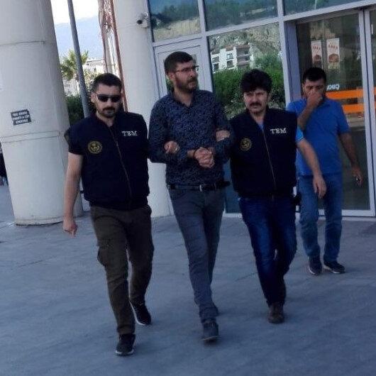 Hatay'da terör propagandası yapan şahıs tutuklandı