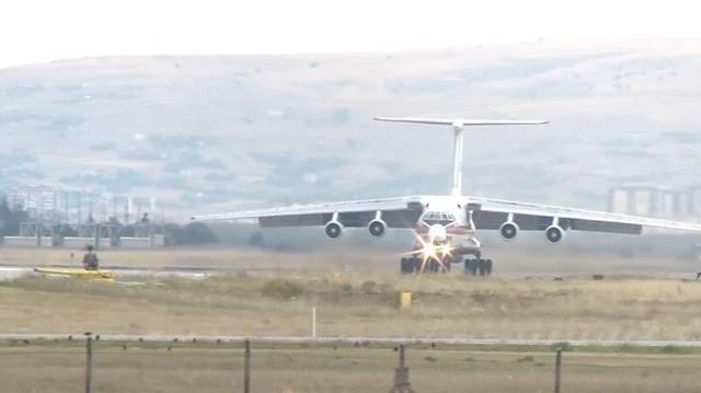 S-400 teslimatında 8. uçak Ankara'ya geldi