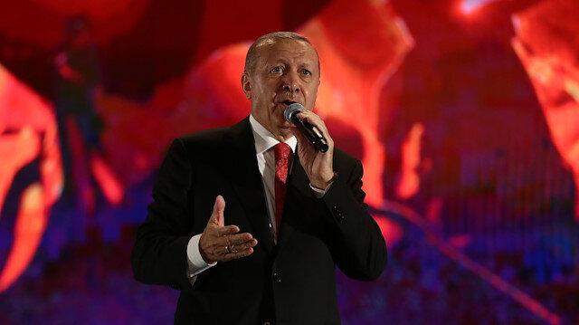 Cumhurbaşkanı Erdoğan: Müptezeller Türkiye'yi ele geçiremeyecekler