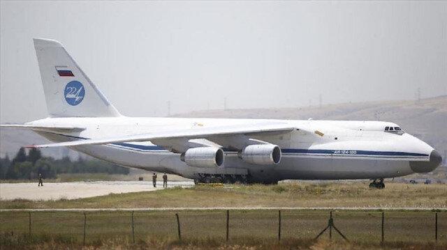 وصول طائرة روسية ثامنة إلى أنقرة تحمل معدات