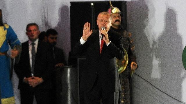 Erdoğan 'Hafıza 15 Temmuz Müzesi' açılışını yaptı