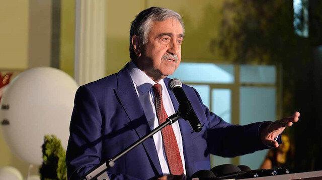Kuzey Kıbrıs Türk Cumhuriyeti (KKTC) Cumhurbaşkanı Mustafa Akıncı.