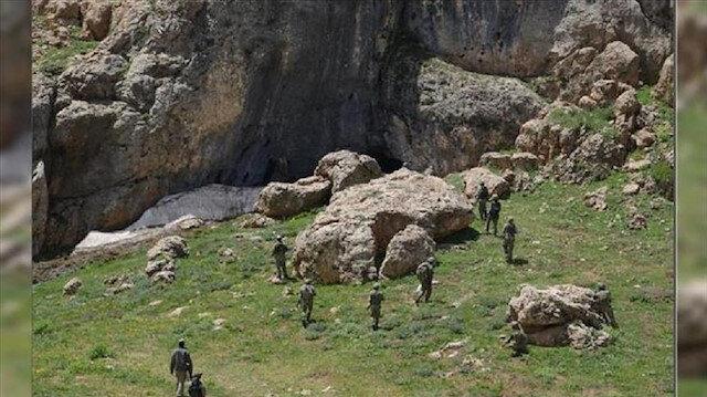 الجيش التركي يعلن تدمير 177 مغارة لإرهابيي